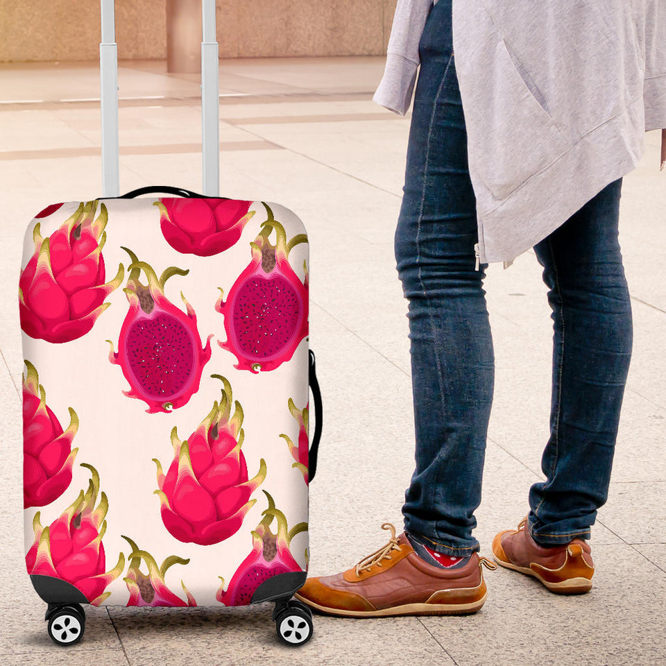 dragon fruits design pattern Luggage Covers