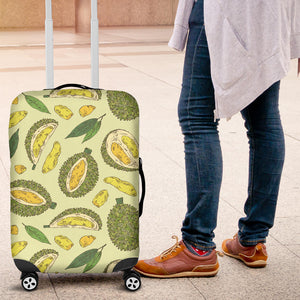Durian Leaves Pattern Background Luggage Covers