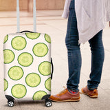 Cucumber slices pattern Luggage Covers