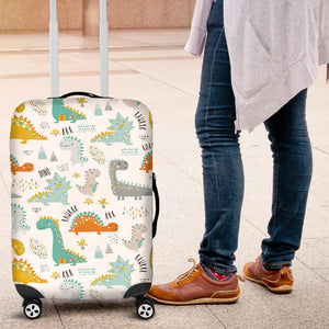 Cute funny kids dinosaurs pattern Luggage Covers
