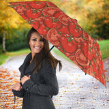 Red Tomato Pattern Umbrella