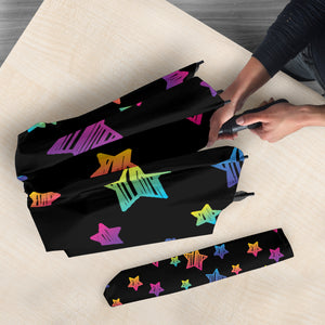 Colorful Star Pattern Umbrella