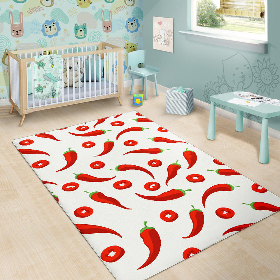 Chili Pattern Area Rug