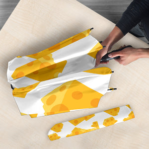 Cheese slice pattern Umbrella