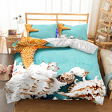 Starfish Bedding Coastal Bedding Nautical Bedding Beach Bedding ccnc006 bt0229