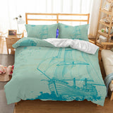 Anchor Bedding  Nautical Bedding ccnc006 bt0217