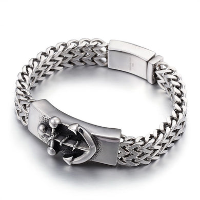 Anchor Bracelet Stainless Steel For Men Guys Women Ccnc006 Bt0237