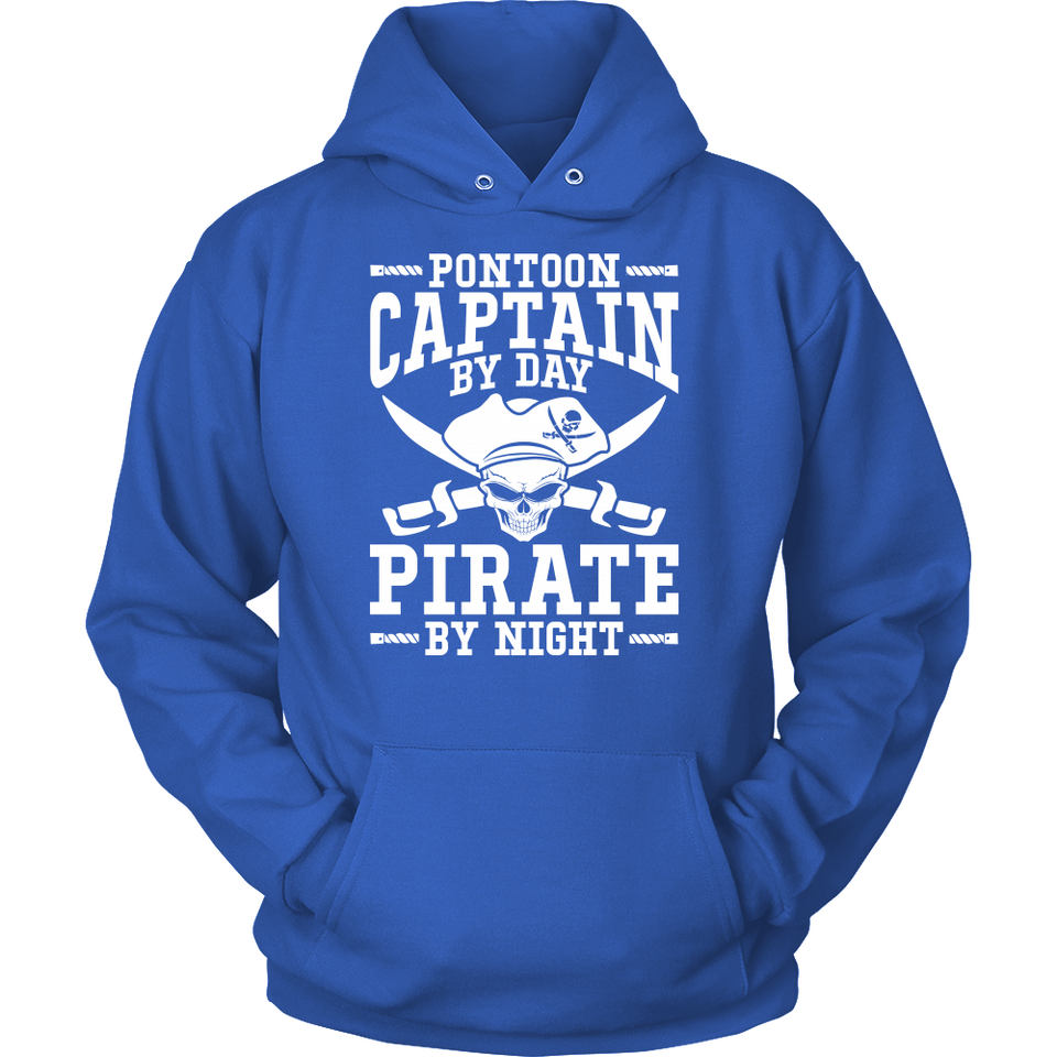 Shirt-Pontoon Captain By Day Pirate By Night ccnc006 ccnc012 pb0056