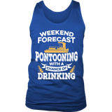 Shirt-Weekend Forecast Pontooning With a Chance of Drinking ccnc006 ccnc012 pb0001