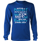 Shirt-Nobody Is Perfect But If You're a Ham Radio Operator You are Pretty Dame Close ccnc001 hr 0025