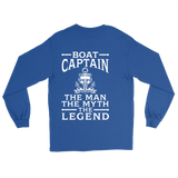 Back Side Shirt-Boat Captain The Man The Myth The Legend ccnc006 bt0069