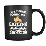 Black Mug-Weekend Forecast Sailing With a Chance of Drinking ccnc007 sb0013