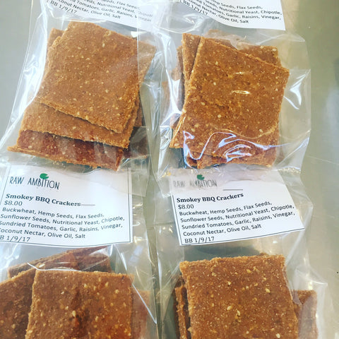 Smokey BBQ Crackers - $8.00 approx 80grams