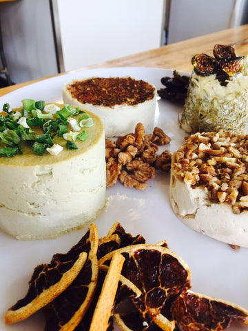 Raw Vegan Cheeses -  $15