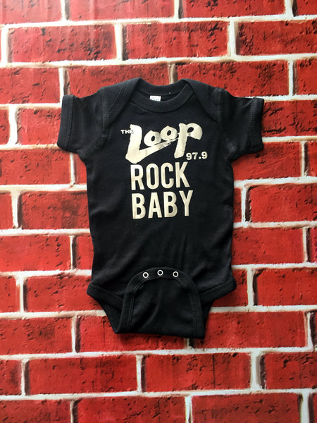 Official 97.9 FM The Loop Rock Baby Collection