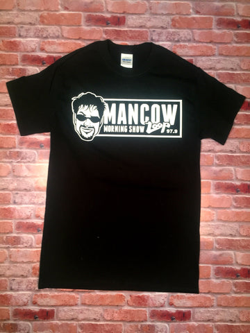 "Short Sleeve ""Mancow Morning Show on The Loop"" T Shirt"