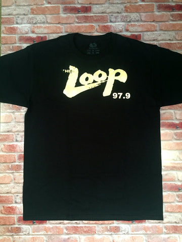 "Metallic Gold Official ""The Loop 97.9"" T Shirt"
