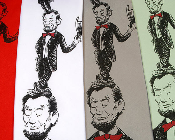 Dr Suess inspired Abraham Lincoln Tie