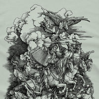Four Horsemen of the Apocalypse Parody Tshirt