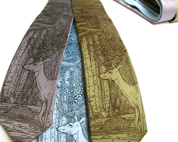 tangled forest tie