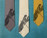 Praying Mantis Tie
