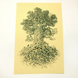 """Mother Nature's Daughter"" Screen Print or Original Ink Drawing"