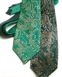 men's Circuit board tie