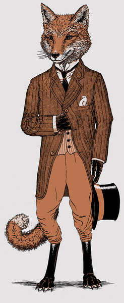 dapper fox by Michael Phipps