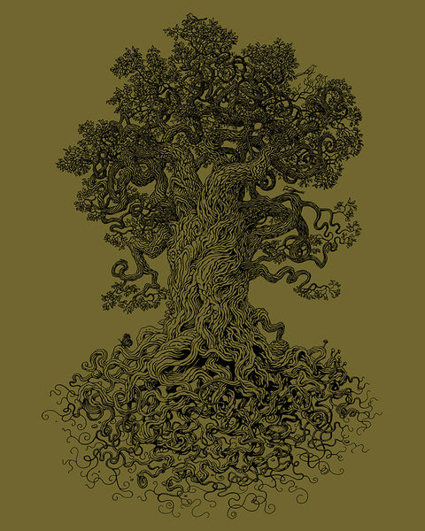 Twisting tree art- Tree of Life Shirt
