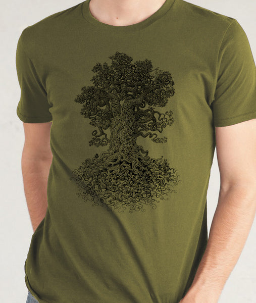 Detailed tree shirt - Gardener Gift