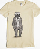 Women's sloth Tshirt