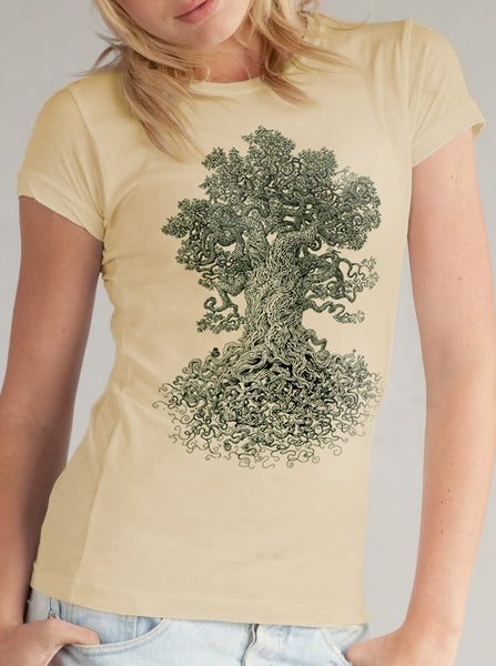 women's tree shirt - Nature Shirt