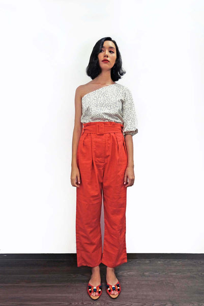 Jimena Pants in Red