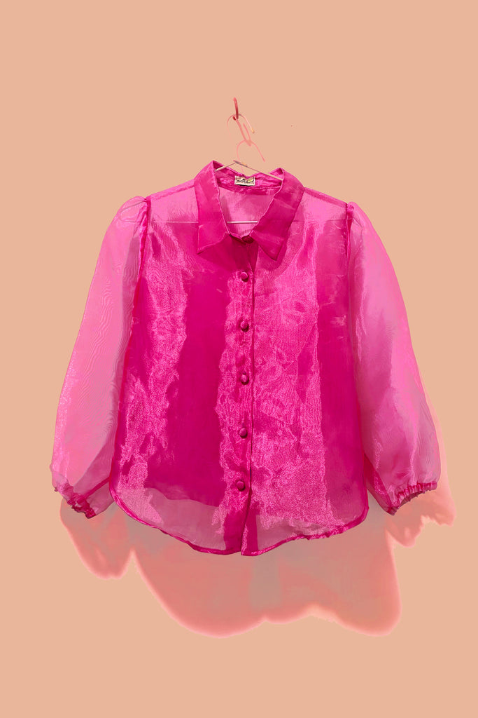 Dandelion Button Down (Pink)