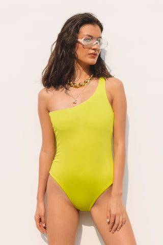 Jade Vine One-piece Swimsuit