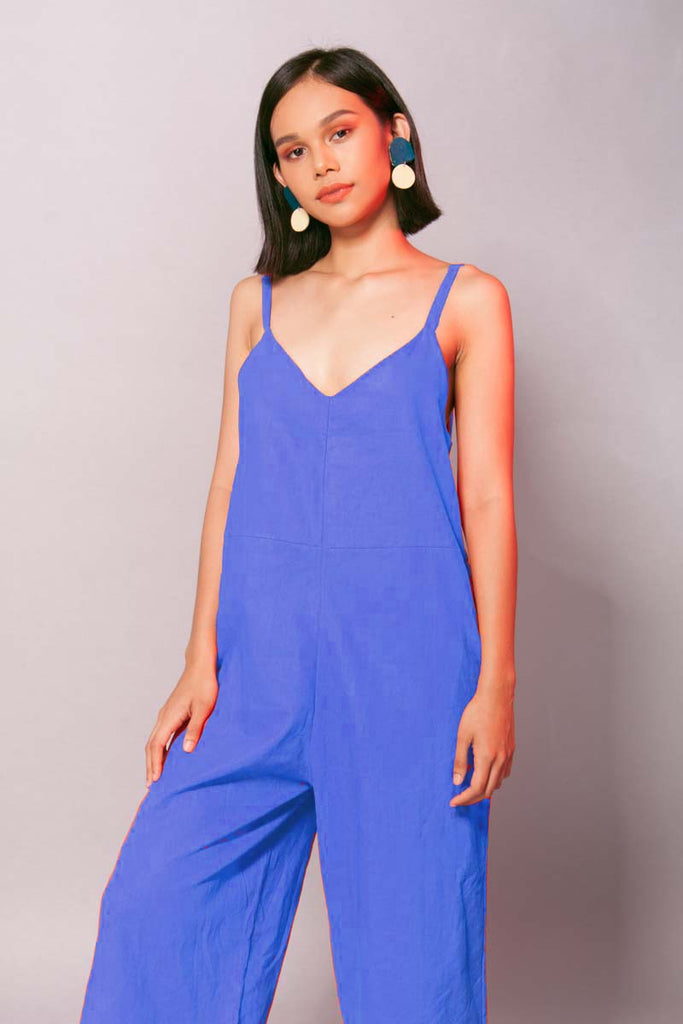 Margarita Jumpsuit (Blue)