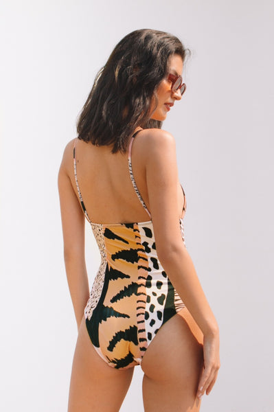 Desert Lantern One-piece Swimsuit