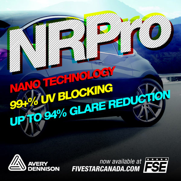NR Pro Automotive Window Film