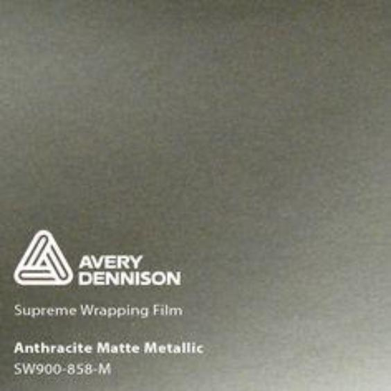 Avery Dennison - SW900 - Matte Metallic Anthracite