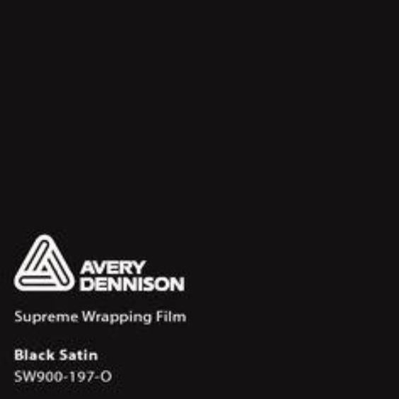 Avery Dennison - Satin Black