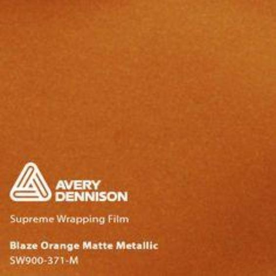 Avery Dennison - Matte Metallic Blaze Orange