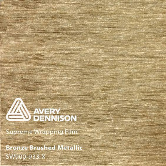 Avery Dennison - SW900 - Brushed Bronze