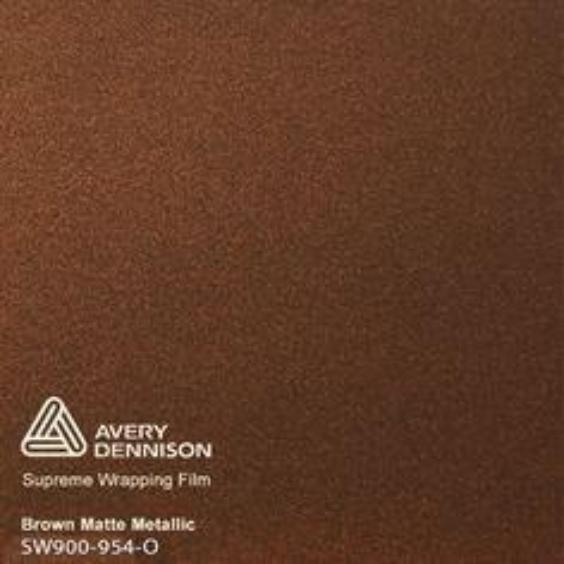 Avery Dennison - SW900 - Matte Metallic Brown