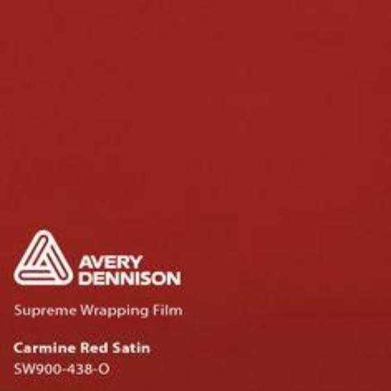Avery Dennison - Satin Carmine Red