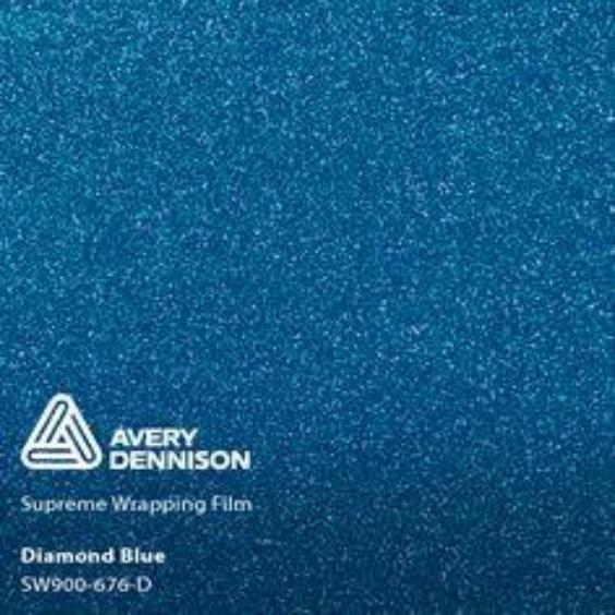 Avery Dennison - Diamond Blue