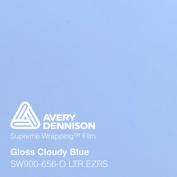 Avery Dennison - Gloss Cloudy Blue