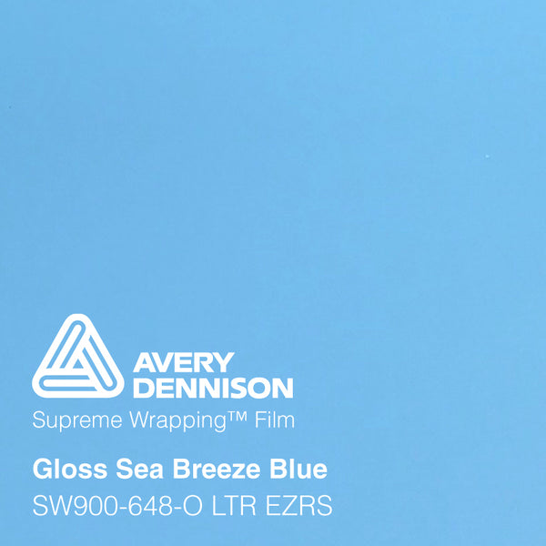 Avery Dennison - Gloss Sea Breeze Blue