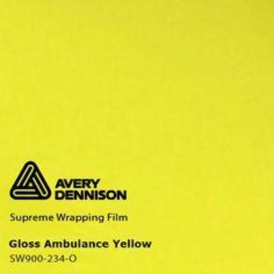 Avery Dennison - Gloss Ambulance Yellow