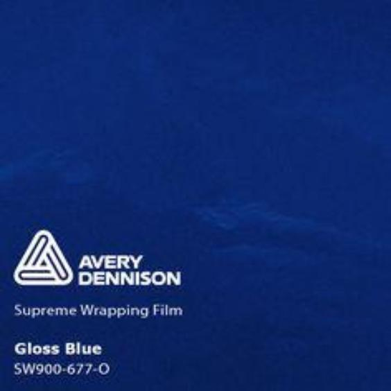Avery Dennison - Gloss Blue