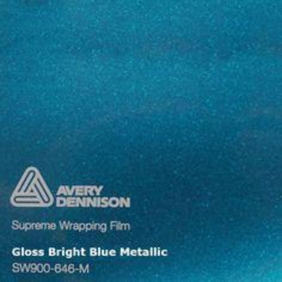 Avery Dennison - Gloss Metallic Bright Blue